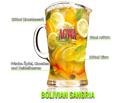 Bolivian Sangria Cocktail 1