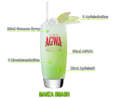 Manzana Smash Cocktail 1
