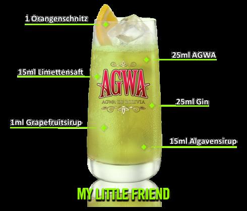 My Little Friend Cocktail 1